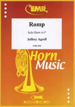 Romp - Jeffry Agrell - Partition - Cor - laflutedepan.com