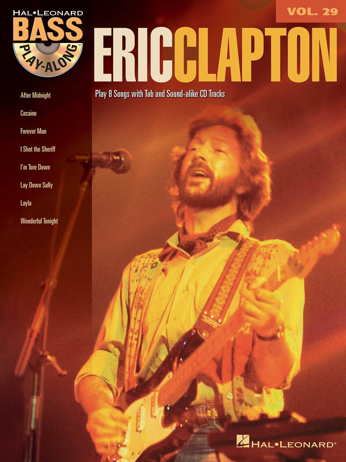Bass Play-Along Volume 29 - Eric Clapton - laflutedepan.com