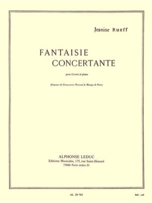 Fantaisie Concertante Jeanine Rueff Partition Trompette - laflutedepan