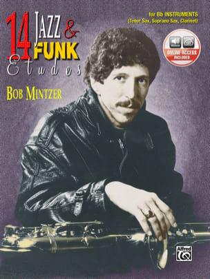 14 Jazz & Funk Etudes Bob Mintzer Partition Saxophone - laflutedepan