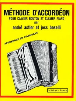 Méthode d'accordéon - Méthode jaune laflutedepan