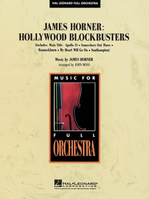Hollywood Blockbusters James Horner Partition laflutedepan