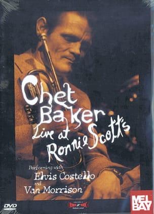 DVD - Live At Ronnie Scott's Chet Baker Partition laflutedepan