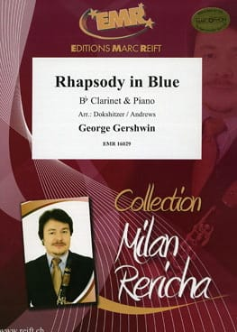 Rhapsody in Blue GERSHWIN Partition Clarinette - laflutedepan