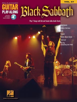 Guitar play-along volume 67 - Black Sabbath laflutedepan