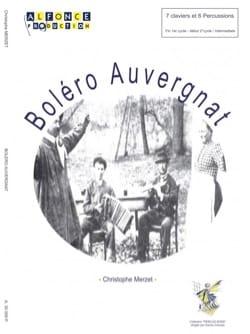Boléro Auvergnat Christophe Merzet Partition laflutedepan