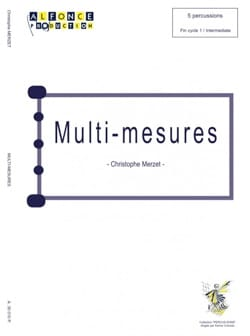 Multi-Mesures Christophe Merzet Partition laflutedepan