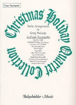 Christmas holiday quartet collection Noël Partition laflutedepan