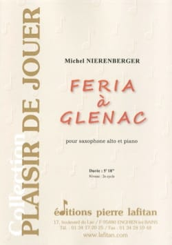 Feria à Glénac Michel Nierenberger Partition Saxophone - laflutedepan
