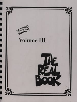 The Real Book Volume 3 - Second Edition - C Instruments laflutedepan