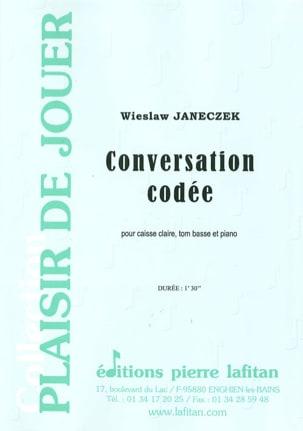 Conversation Codée - Wieslaw Janeczek - Partition - laflutedepan.com