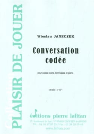 Conversation Codée Wieslaw Janeczek Partition laflutedepan
