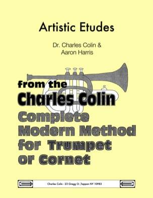 Artistic Etudes Charles Colin Partition Trompette - laflutedepan