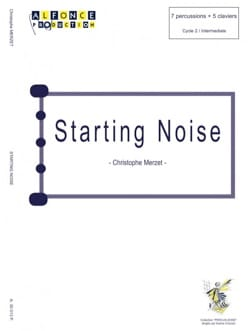 Starting Noise Christophe Merzet Partition laflutedepan