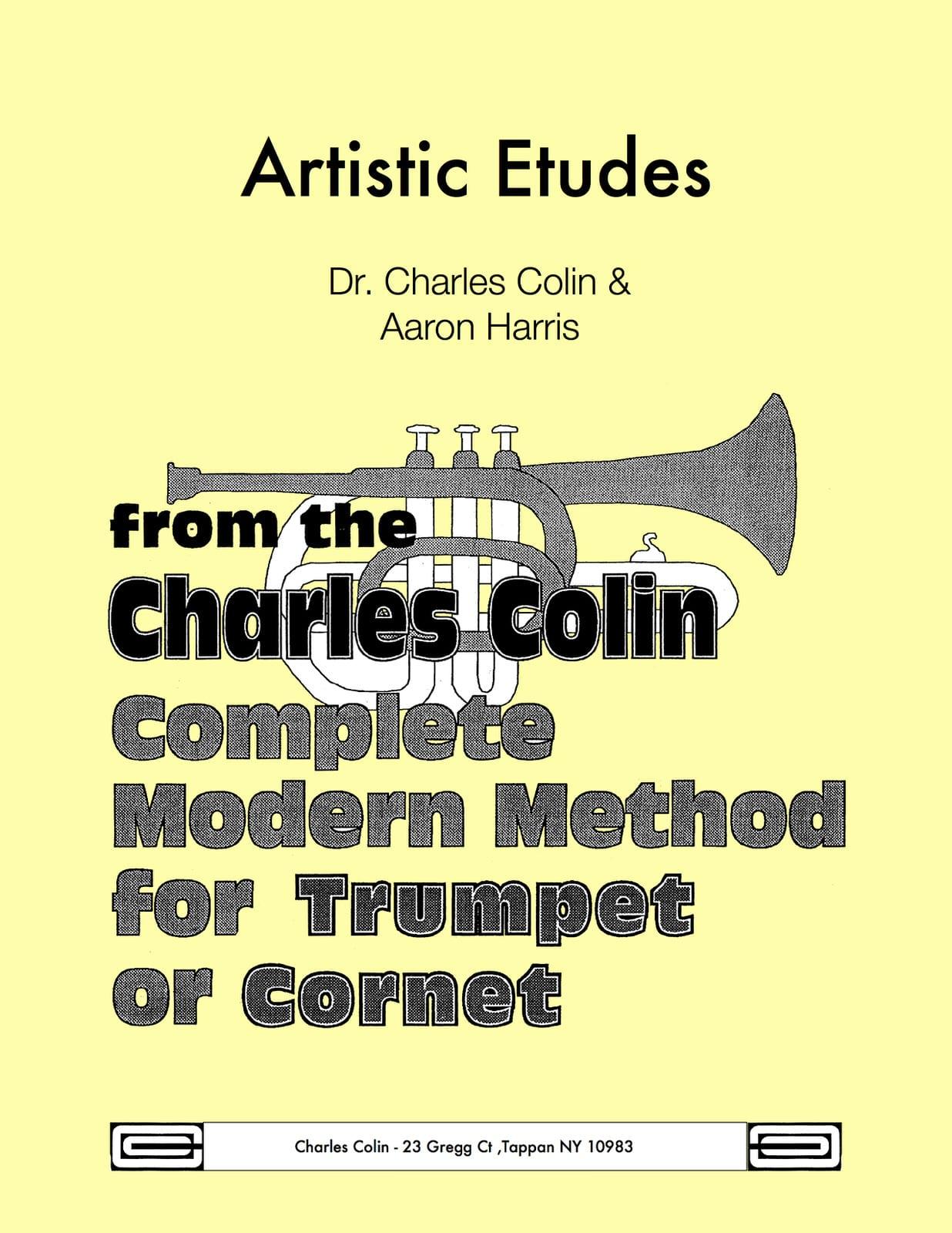 Artistic Etudes - Charles Colin - Partition - laflutedepan.com