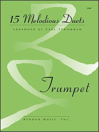 15 Melodious Duets - Partition - Trompette - laflutedepan.com