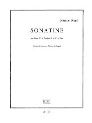 Jeanine Rueff - sonatine - Partition - di-arezzo.es