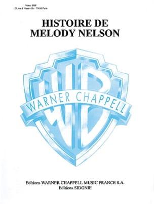 Histoire de Melody Nelson Serge Gainsbourg Partition laflutedepan