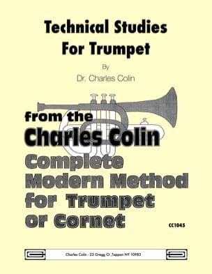 Technical Studies Charles Colin Partition Trompette - laflutedepan