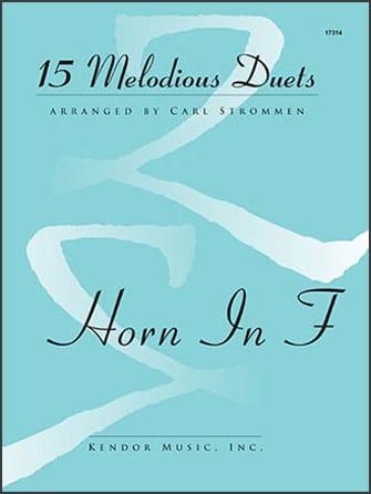 15 Melodious Duets - Partition - Cor - laflutedepan.com