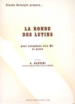 Ronde des Lutins Bazzini Partition Saxophone - laflutedepan