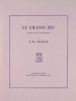 Le Grand Jeu Sonatine Pierre-Max Dubois Partition laflutedepan