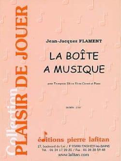 La Boîte A Musique Jean-Jacques Flament Partition laflutedepan