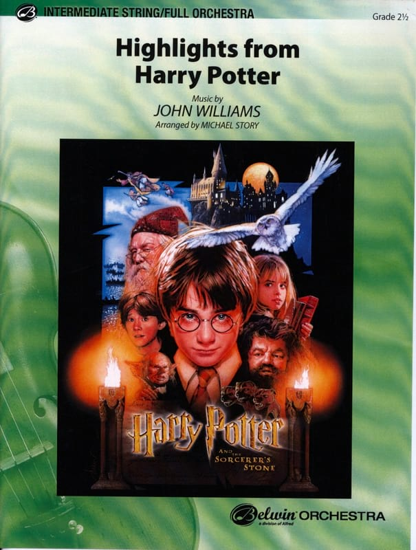 Highlights From Harry Potter - John Williams - laflutedepan.com