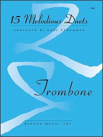 15 Melodious Duets - Partition - Trombone - laflutedepan.com