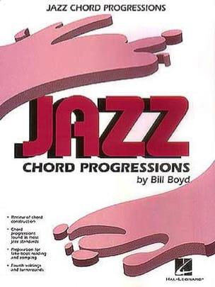 Jazz Chord Progressions - Bill Boyd - Partition - laflutedepan.com