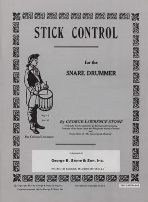 Stick Control George L. Stone Partition Caisse-claire - laflutedepan
