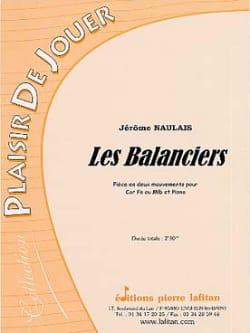 Les Balanciers Jérôme Naulais Partition Cor - laflutedepan