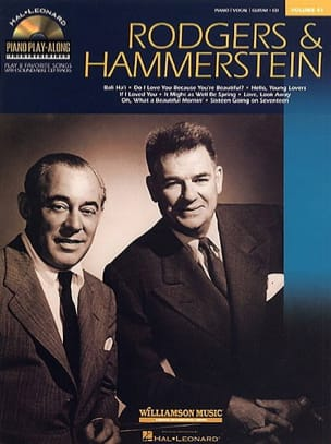 Piano Play-Along Volume 41 - Rodgers & Hammerstein laflutedepan