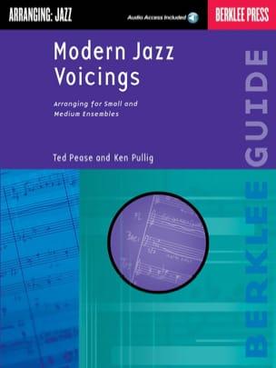 Modern Jazz Voicings - Pease Ted / Pullig Ken - laflutedepan.com