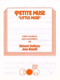 Petite Muse Richard Galliano & Joss Baselli Partition laflutedepan