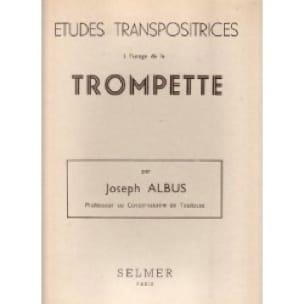 Etudes Transpositrices - Joseph Albus - Partition - laflutedepan.com