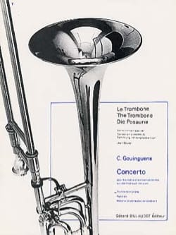 Concerto Christian Gouinguene Partition Trombone - laflutedepan