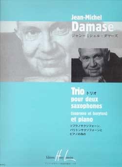 Trio Jean-Michel Damase Partition Saxophone - laflutedepan