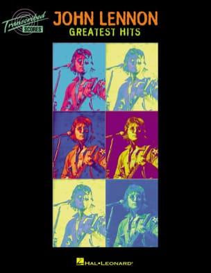 Greatest Hits John Lennon Partition Pop / Rock - laflutedepan