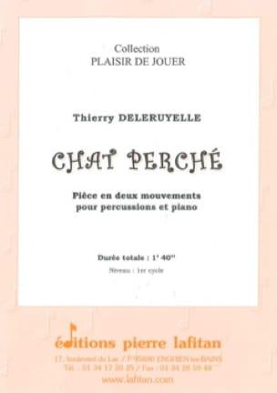 Chat Perché - Thierry Deleruyelle - Partition - laflutedepan.com