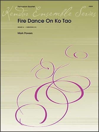 Fire Dance On Ko Tao - Mark Powers - Partition - laflutedepan.com