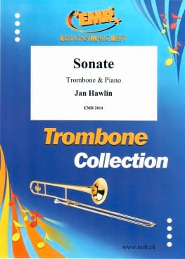 Sonate - Jan Hawlin - Partition - Trombone - laflutedepan.com