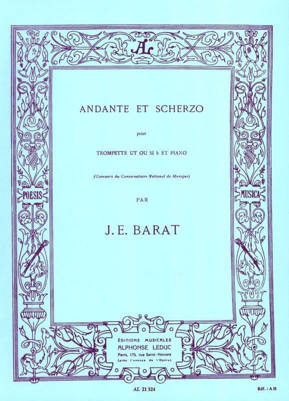 Andante et scherzo - Joseph Eduard Barat - laflutedepan.com