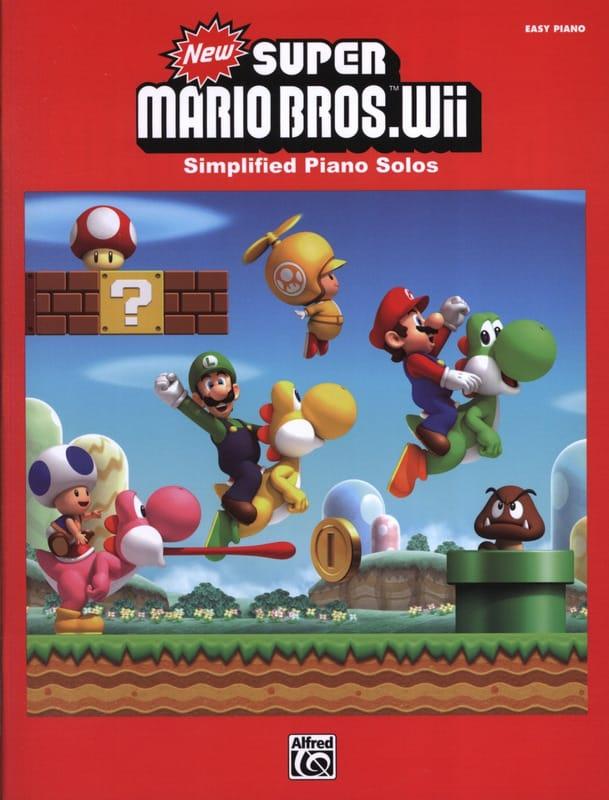 New Super Mario Bros. Wii - Piano Simplifié - laflutedepan.com
