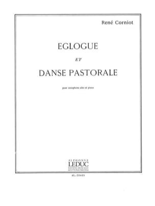 Eglogue Et Danse Pastorale René Corniot Partition laflutedepan