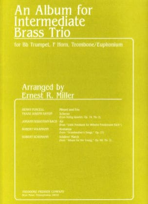 An Album For Intermediate Brass Trio Partition laflutedepan