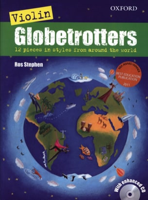 Globetrotters - Violon Ros Stephen Partition Violon - laflutedepan