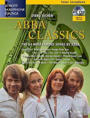 Abba Classics Abba Partition Saxophone - laflutedepan
