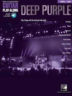 Deep Purple - Guitar Play-Along Volume 190 - Deep Purple - Partition - di-arezzo.com