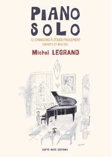 Piano Solo - Michel Legrand - Michel Legrand - laflutedepan.com